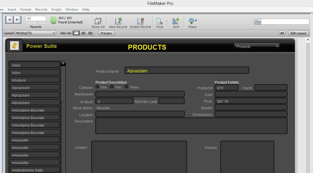 Screenshot of HighPower Data business software solutions