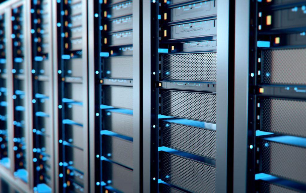 server room for relational database