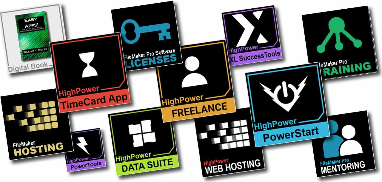 HighPower Application Icons