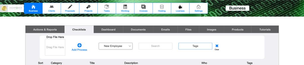 HighPower Freelance Software Business Checklist