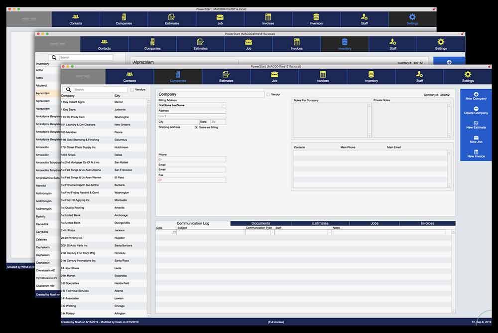PowerStart Screenshots